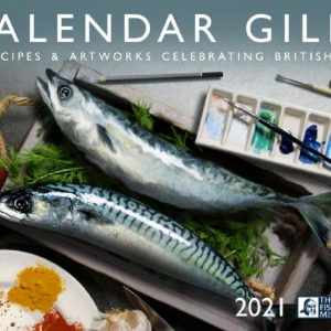 Photo of the cover of the Fishermen's Mission's Calendar Gills Recipe and artwork 2021 calendar.